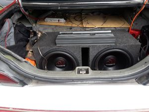 Massive 15 inch subwoofer and 1500 watts Alpine Amp for Sale in Atlanta, GA