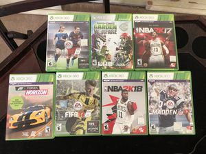 Lot of Xbox 360 games—$10/each or lot for $50 for Sale in Portland, OR
