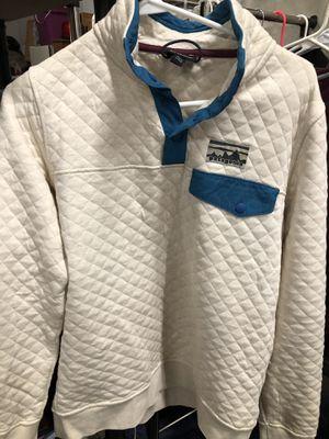Women's White Patagonia Pullover for Sale in Waynesboro, VA