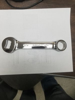 Snap on bottle opener made like a wrench for Sale in Pass Christian, MS