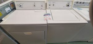 White Kenmore Washer and Dryer Set for Sale in Littleton, CO
