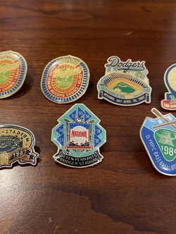 7 Dodgers Vintage Pins 80s & 90s for Sale in Long Beach,  CA