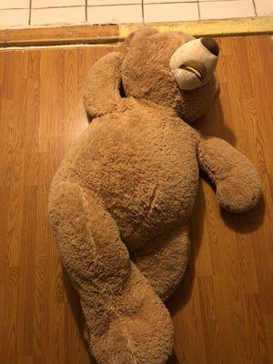 Life sized teddy bear plush obo for Sale in Santa Ana, CA