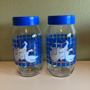 2 Glass Storage Containers for Sale in Gresham, OR