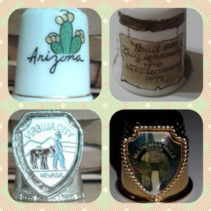 🇺🇸  THIMBLE COLLECTIBLES - USA WEST COAST at $3, $5 and $6 for Sale in Manteca, CA