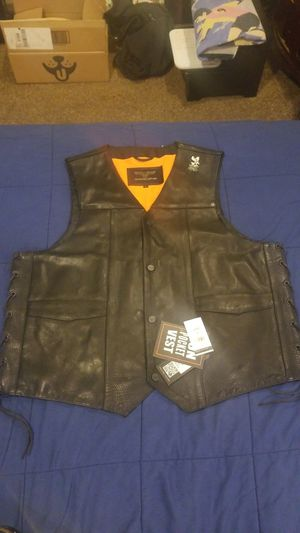Wilson's leather motorcycle vest for Sale in Centennial, CO