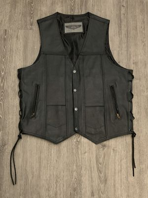 Women's Leather Motorcycle Vest for Sale in Ontario, CA