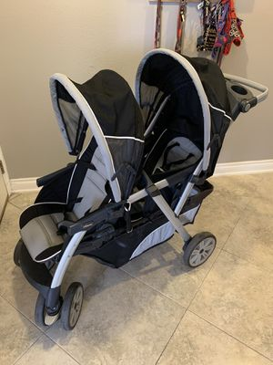 Chicco Cortina Together Double Stroller in Romantic for Sale in Corona, CA
