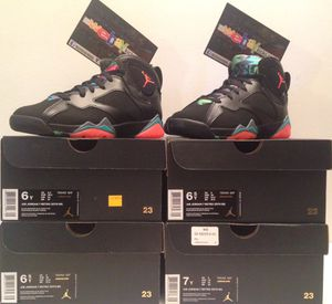 "Jordan Retro 7 ""Barcelona Nights"" Kids Sizes 6 & 6.5 Brand New 100% Authentic for Sale in Bronx, NY"