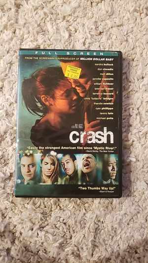 Crash DVD for Sale in San Diego, CA
