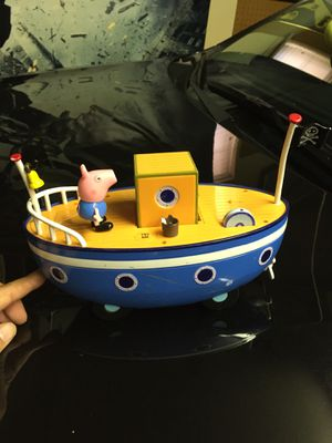 Peppa Pig Sail boat Toy Collection for Sale in El Paso, TX