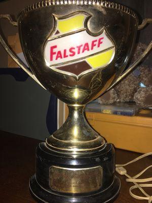 Vintage Falstaff Trophy Lamp Holder for Sale in Council Bluffs, IA