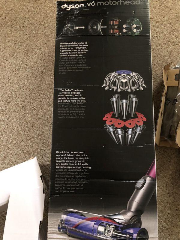 New Dyson v6 Motörhead Vacuum