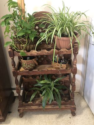 Antique wine rack/plant holder for Sale in Rockland, MA