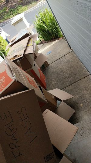 Free Boxes for Sale in Pleasant Hill, CA