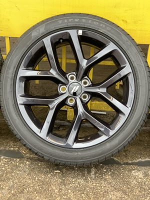 "20"" Dodge Charger wheels and tires (Take Offs) for Sale in San Antonio, TX"