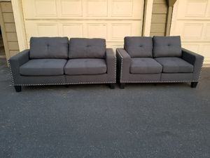 New 2 Piece Sofa & Love Seat Set for Sale in Fresno, CA