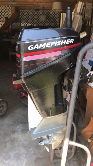 Gamefisher 15 hp trolling motor for Sale in Dexter, ME