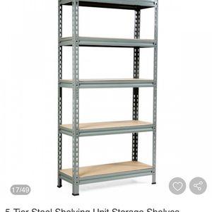 5 Tier Heavy Duty Storage Rack Tool Shelf for Sale in Anaheim, CA