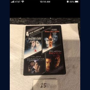 4 Film Collection DVD for Sale in Fort Lauderdale, FL