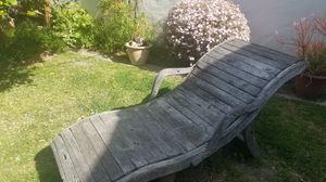 Teak Patio Lounger for Sale in Los Angeles, CA