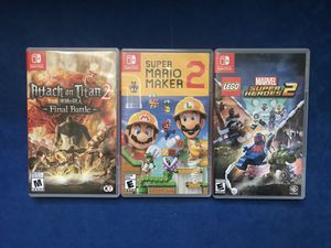Nintendo Switch Games for Sale in North Las Vegas, NV
