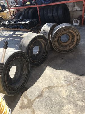 Solid bobcat tires for Sale in Ramona, CA
