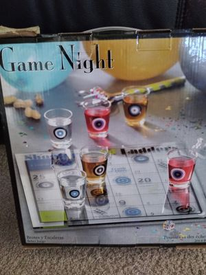 Game night drinking game for Sale in Bradenton, FL