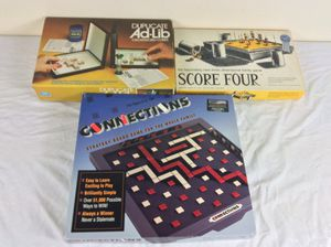 Lot of 3 Vintage Board Games for Sale in Severn, MD