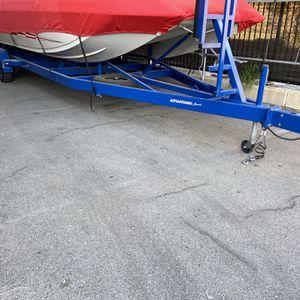 2003 Zieman Double Axle 28' Deck boat Trailer New Wheels & Tires for Sale in Orange, CA