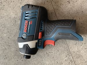 Bosch drill with battery and charger for Sale in Chicago, IL