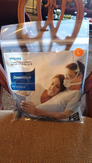 Phillips Respironics Dream Wear Full Face CPAP Mask Large for Sale in Lorain, OH