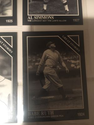 Old school baseball cards for Sale in San Diego, CA