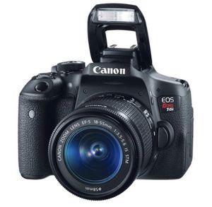 Canon Rebel T6i for Sale in Ridgefield, CT
