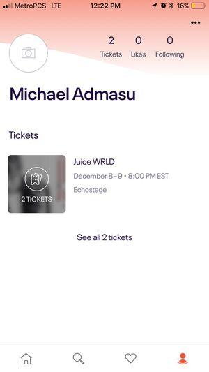Jucie wrld concert tickets for Sale in Alexandria, VA