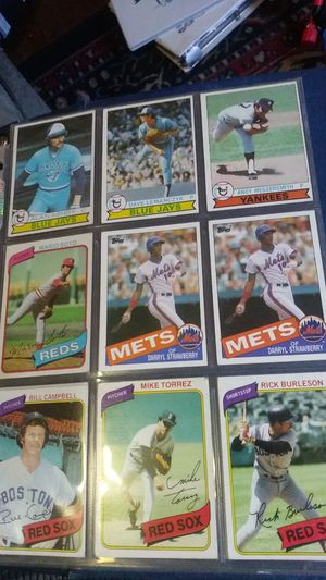 Some older cards everthing shown. for Sale in Fall River, MA