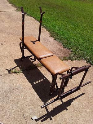 weight bench only brown 30.00 for Sale in Atlanta, GA