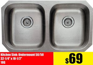 Stainless Steel Kitchen Cabinet Countertop Sink under Mount, Top Mount From $69 for Sale in Anaheim, CA