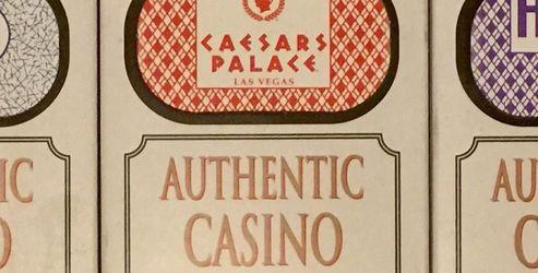 Authentic Casino Played Cards, Caesars, Harrahs, Palms Sealed Decks for Sale in Myrtle Beach,  SC