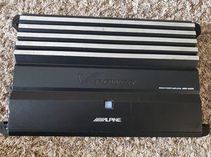 Amplifier Old School Alpine Monoblock 1700 Watts or 850 Watts' arms In good condition for Sale in Belle Isle, FL