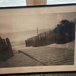 Free Beach Pic With Frame for Sale in Snoqualmie Pass,  WA