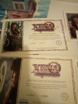 Xena collection for Sale in Newport, AR