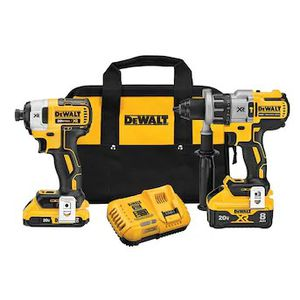 DEWALT Power Detect XR POWER DETECT 2-Tool 20-Volt Max Brushless Power Tool Combo Kit with Soft Case (Charger Included and 2-Batteries Included) for Sale in Stickney, IL