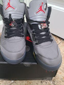 Jordan 5 Off White Black for Sale in Riverside,  CA