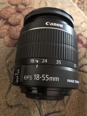 Canon 18-55 mm for Sale in Tracy, CA