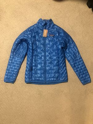 Patagonia Womens Micro Puff jacket, Lápiz Blue, Size Small, New & Never used for Sale in Seattle, WA
