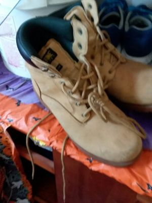 Wolverine work boots size 10 and 1/2 great condition have lots of life left for Sale in Cleveland, OH