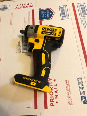 Dewalt xr 3/8 cordless impact wrench for Sale in Silver Spring, MD