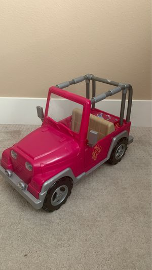 Our generation doll Jeep for Sale in Vancouver, WA