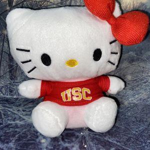 "Rare Sanrio Hello Kitty 6"" Plush with USC for Sale in Long Beach, CA"